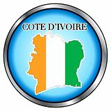 Cote D Ivoire Rep Round Button