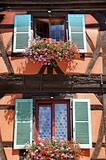 the historical town of Colmar in France