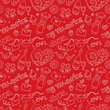 Pattern for st. Valentine's day.