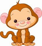Fun zoo. Monkey