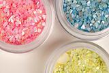 Glittery stones