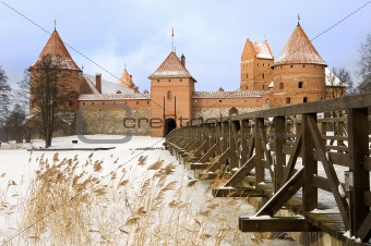 Castle in Trakai, Lithuania