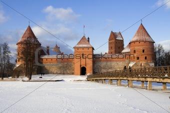 Castle in Trakai, Lithuania