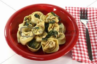 Tortellini with sage