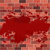 Bricks full of blood