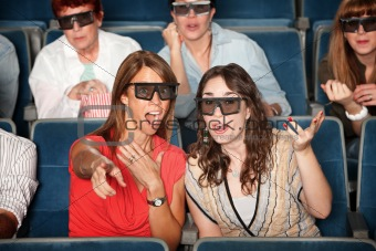 3D Movie Watchers