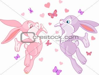 Valentine bunnies