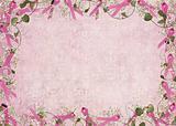 pink ribbon border