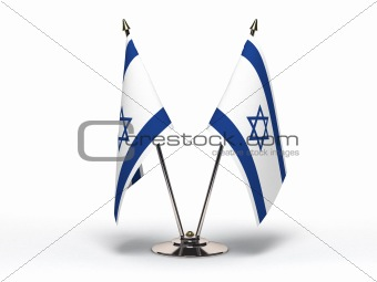 Miniature Flag of Israel