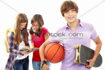 Active teenager
