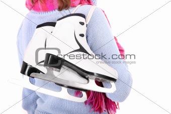 Pair of figure skates