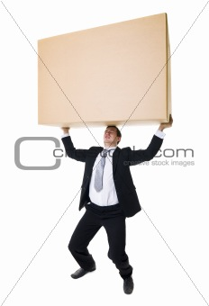 Carrying a heavy Box