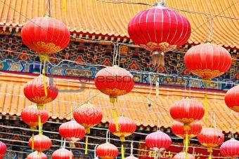Oriental Lanterns for Asian temple