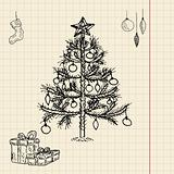 Christmas sketch for your design