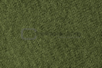 Green wool texture