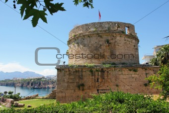 Turkey. Antalya town. Fortress
