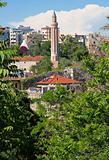 Turkey. Antalya town. Yivli minaret