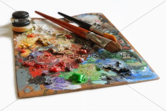 Artistic palette