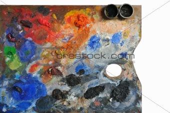 Artistic palette