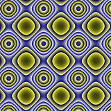 Yellow-blue gradient pattern-background.