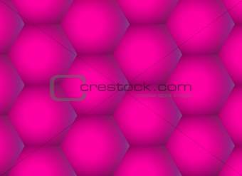 Abstract rose hexagons  background