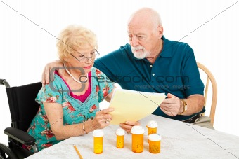 Senior Couple - Medical Bills