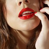 Lips close-up