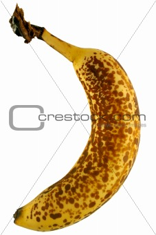 Old speckled banana