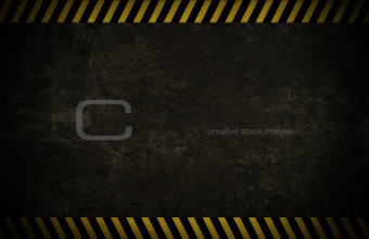 Caution Wall Background