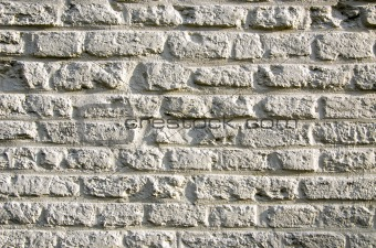 Background ancient brick wall sunlight sun.