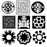 various ornaments - vector