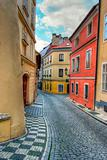 Prague alleyway