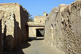 Stone walls and ruins