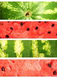 Watermelon. Collection of banners