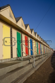 Beach Huts, Lowestoft