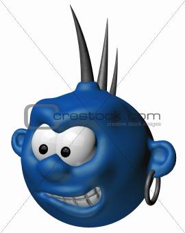 blue punk