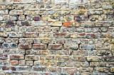 Old brick wall background architecture details 