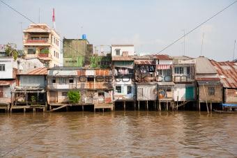 Slum area