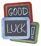 good luck wishes on blackboard