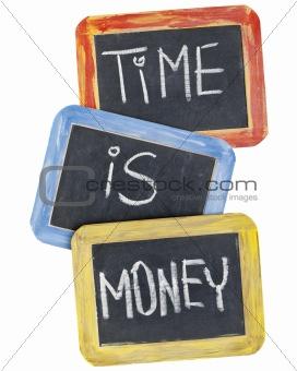 time is money on blackboard