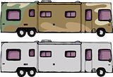 Long RV Camper