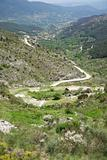 ancient roman road at Gredos mountains