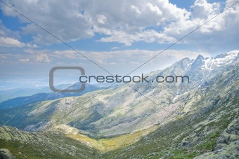 south Gredos mountains