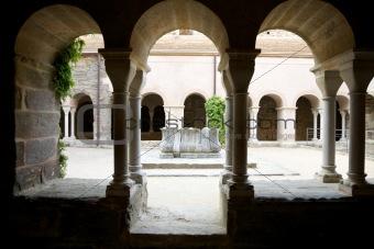 three archs cloister