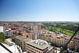 view of Lleida city