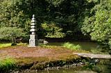 Buddhist stone pagoda