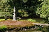 Buddhist stone pagoda