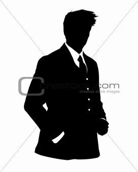 business man avatar profile