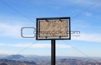Blank Stone Plate