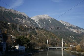 Bridge over the Inn at Innsbruck